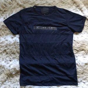 Philipp Plein Jersey Knit Cotton Navy TShirt XL